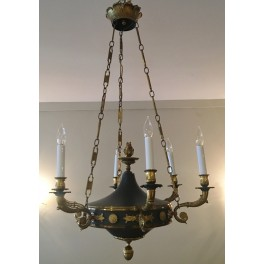 Fr. Empire chandelier