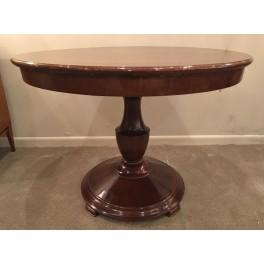 Banded Mahogany Pedestal table c. 1940