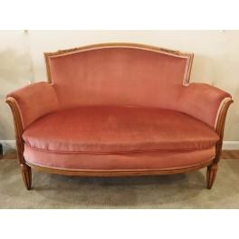 Fr. Art Deco Settee / love seat  c. 1930's