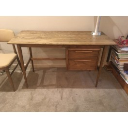 Mid Century Heywood Wakefeild Desk w/chair  c. 1960