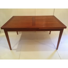 Danish teak refractory table by Skovby