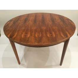 Mid Century rosewood dining table c. 1960's