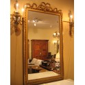 Louis XVI Gold leaf frame mirror