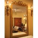 Louis XVI Gold leaf frame mirror