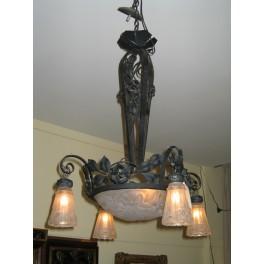 Art Deco chandelier  c. 1930