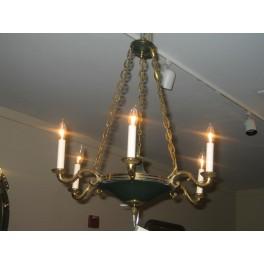 Empire chandelier  c.1930
