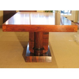 Art Deco Rosewood dining table c. 1930's