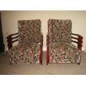 Pr. Art Deco lounge chairs c. 1938 'SOLD'