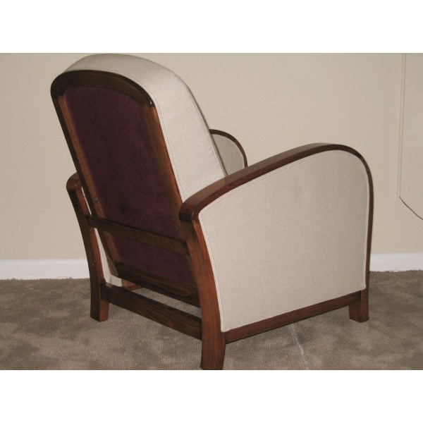 Pair art deco club chairs c 1930 39 s 39 sold 39 classic for Art deco rooms 1930 s