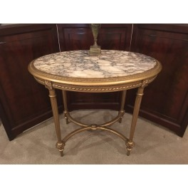 Louis XVI gilded side table c. 1890