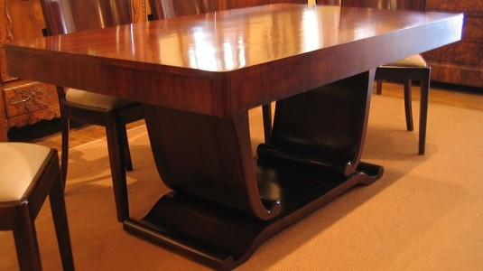 Art Deco Rorewood Dining Table c.1930